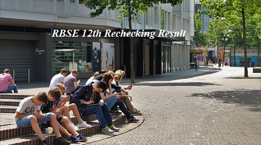RBSE 12th Rechecking Result 2021