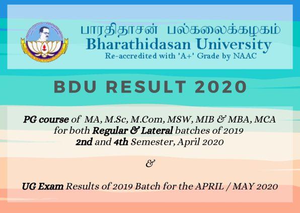 BDU result 2021