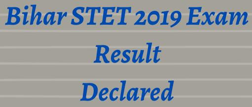 BSEB STET Result 2021