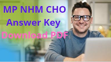 MP NHM CHO Answer Key 2021