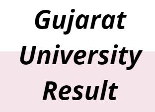 Gujarat University Result 2021