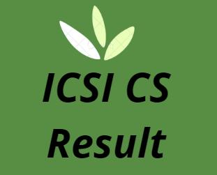 आईसीएसआई सीएस परिणाम 2021