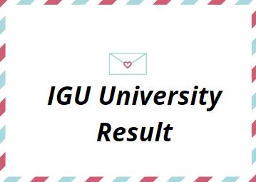 IGU Result 2021
