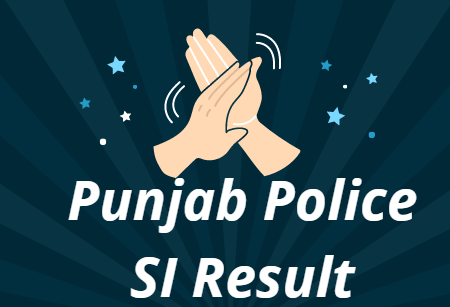 Punjab Police SI Result 2021