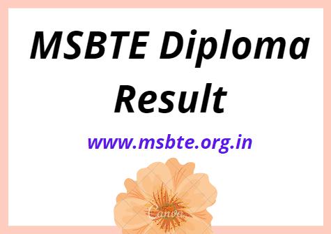 msbte.org.in Result 2021