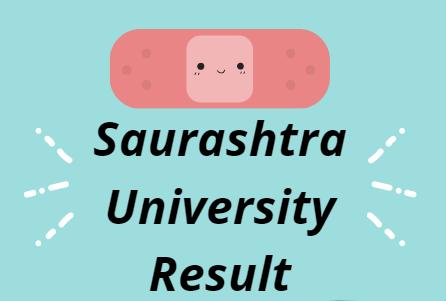 Saurashtra University Result 2021