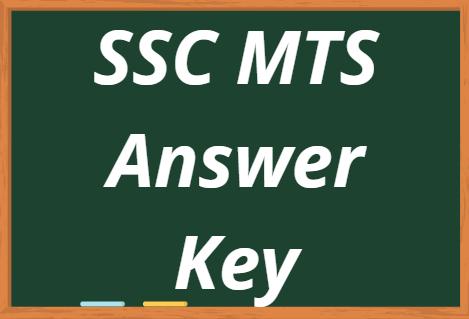 SSC MTS Answer Key 2021