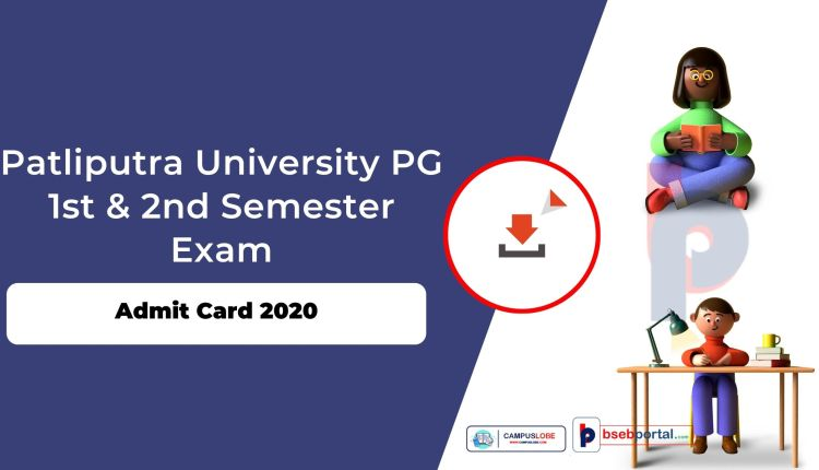 ppu pg Admit Card 2020