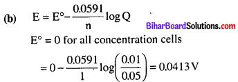 Bihar Board 12th Chemistry Objective Answers Chapter 3 Electrochemistry 6