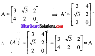 Bihar Board 12th Maths Model Question Paper 3 in English Medium - 10