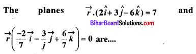 Bihar Board 12th Maths Objective Answers Chapter 11 त्रि-विमीय ज्यामिति Q38