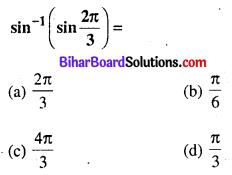 Bihar Board 12th Maths Objective Answers Chapter 2 प्रतिलोम त्रिकोणमितीय फलन Q34