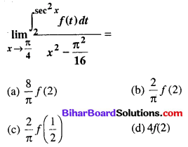 Bihar Board 12th Maths Objective Answers Chapter 7 समाकलन Q67
