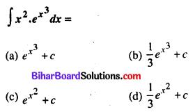 Bihar Board 12th Maths VVI Objective Questions Model Set 1 in Hindi Q26