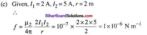 Bihar Board 12th Physics Objective Answers Chapter 4 Moving Charges and Magnetism - 17