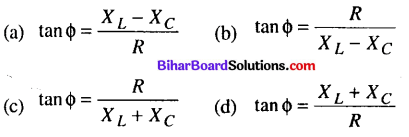 Bihar Board 12th Physics Objective Answers Chapter 7 Alternating Current - 3