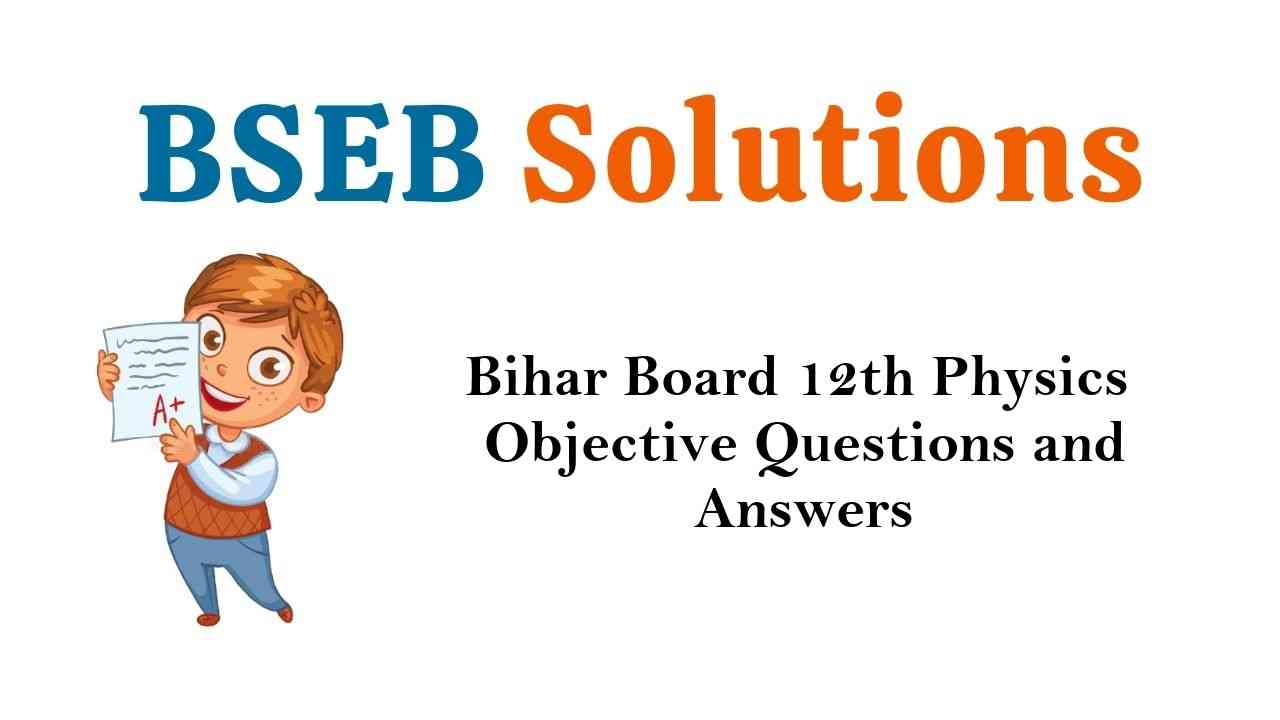Bihar Board 12th Psychology Objective Questions and Answers Key Pdf Download in Hindi & English