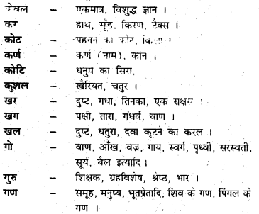 Bihar Board Class 6 Hindi व्याकरण Grammar 40