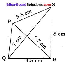 Bihar Board Class 8 Maths Solutions Chapter 7 ज्यामितीय आकृतियों की रचना Ex 7.2 Q2