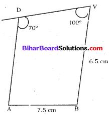 Bihar Board Class 8 Maths Solutions Chapter 7 ज्यामितीय आकृतियों की रचना Ex 7.4 Q4