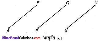 Bihar Board Class 9 Maths Solutions Chapter 5 युक्लिड के ज्यामिति का परिचय Ex 5.1