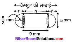 Bihar Board Class 10 Maths Solutions Chapter 13 पृष्ठीय क्षेत्रफल एवं आयतन Ex 13.1 Q6.1