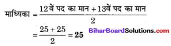 Bihar Board Class 10 Maths Solutions Chapter 14 सांख्यिकी Additional Questions SAQ 9.2