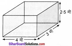 Bihar Board Class 9 Maths Solutions Chapter 13 पृष्ठीय क्षेत्रफल एवं आयतन Ex 13.1