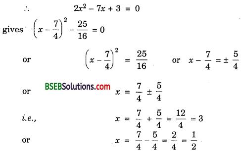 Bihar Board Class 10th Maths Solutions Chapter 4 Quadratic Equations Ex 4.3 img 2