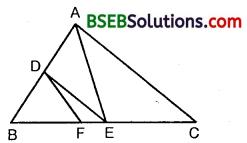 Bihar Board Class 10th Maths Solutions Chapter 6 Triangles Ex 6.2 4
