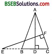 Bihar Board Class 10th Maths Solutions Chapter 6 Triangles Ex 6.3 12