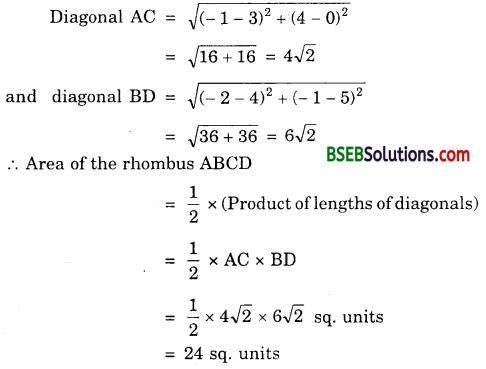 Bihar Board Class 10th Maths Solutions Chapter 7 Coordinate Geometry Ex 7.2 13