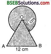Bihar Board Class 10th Maths Solutions 12 Areas Related to Circles Ex 12.3 6
