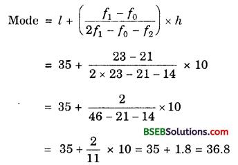 Bihar Board Class 10th Maths Solutions Chapter 14 Statistics Ex 14.2 2