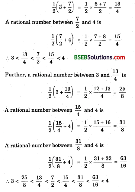 Bihar Board Class 9th Maths Solutions Chapter 1 Number Systems Ex 1.1 1