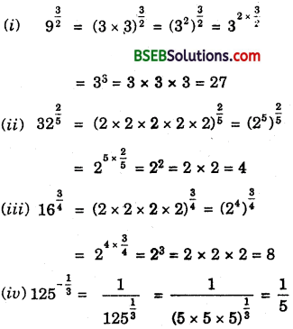 Bihar Board Class 9th Maths Solutions Chapter 1 Number Systems Ex 1.6 2