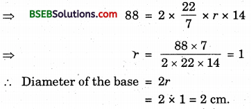 Bihar Board Class 9th Maths Solutions Chapter Bihar Board Class 9th Maths Solutions Chapter 13 Surface Areas and Volumes Ex 13.2 1