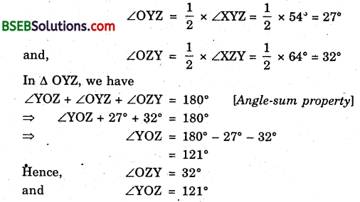 Bihar Board Class 9th Maths Solutions Chapter 6 Lines and Angles Ex 6.3 3
