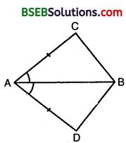 Bihar Board Class 9th Maths Solutions Chapter 7 Triangles Ex 7.1 1