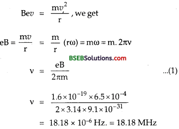 Bihar Board Class 12th Physics Solutions Chapter 4 Moving Charges and Magnetism - 7