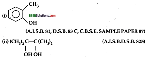 Bihar Board Class 12 Chemistry Solutions Chapter 11 Alcohols, Phenols and Ethers 105