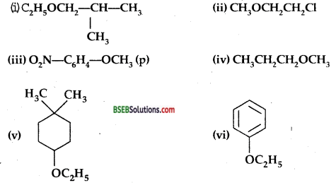 Bihar Board Class 12 Chemistry Solutions Chapter 11 Alcohols, Phenols and Ethers 76