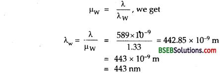 Bihar Board Class 12th Physics Solutions Chapter 10 Wave Optics 1