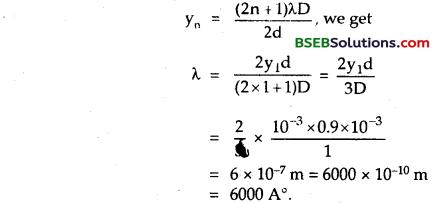 Bihar Board Class 12th Physics Solutions Chapter 10 Wave Optics 47