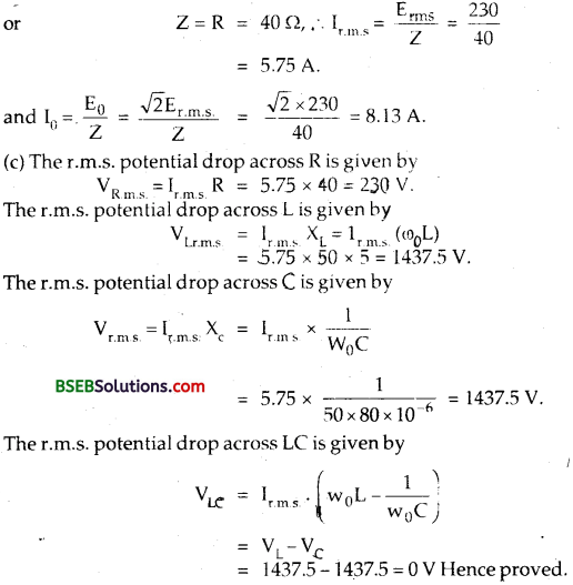 Bihar Board Class 12th Physics Solutions Chapter 7 Alternating Current 11