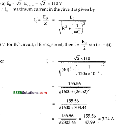 Bihar Board Class 12th Physics Solutions Chapter 7 Alternating Current 21