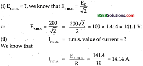 Bihar Board Class 12th Physics Solutions Chapter 7 Alternating Current 92