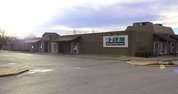 B-Sew Inn Tulsa Store - 16,000 square foot showroom