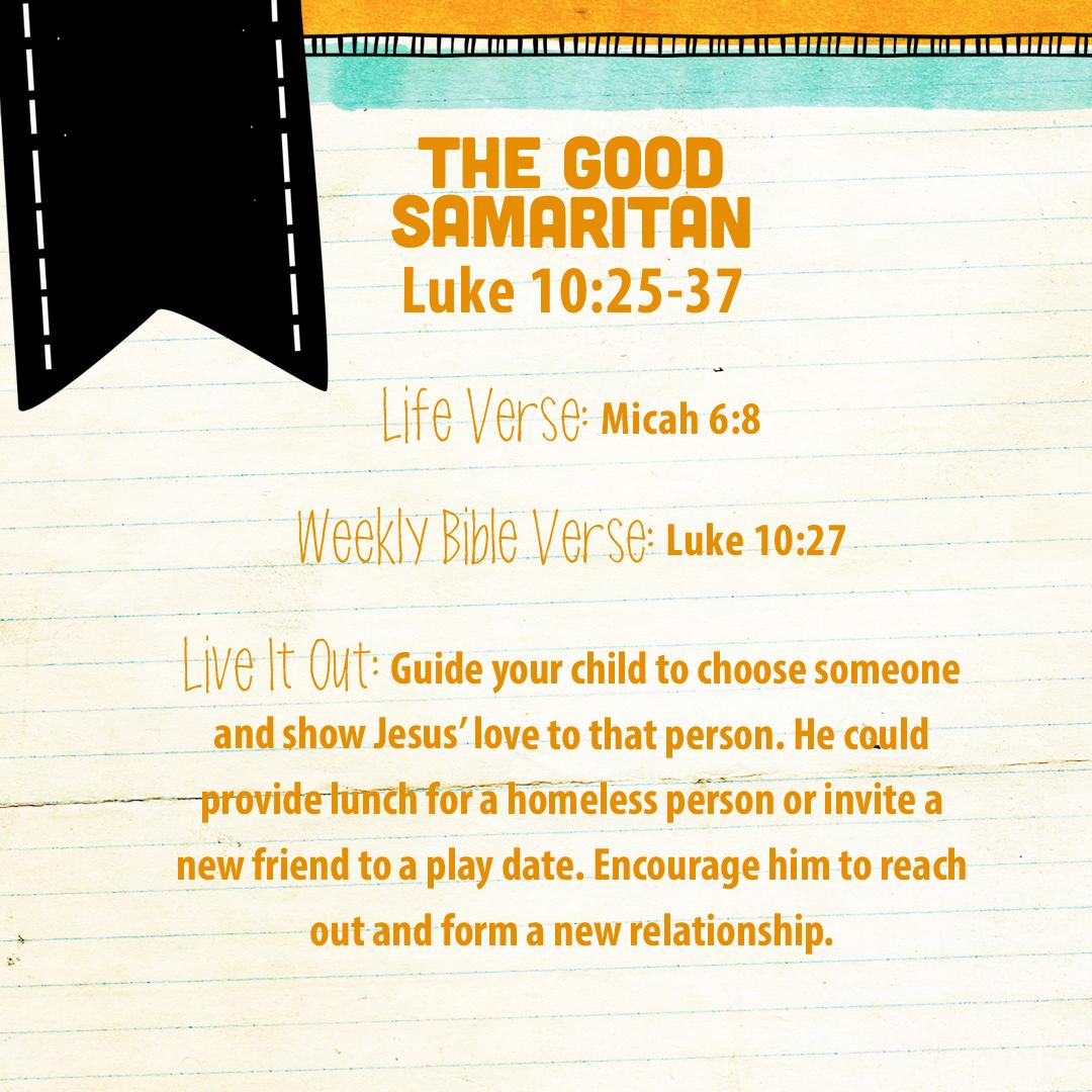 Week Of August 28 The Good Samaritan Social Media Plan