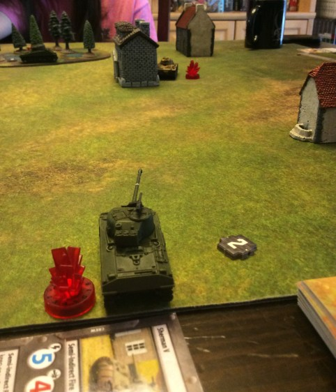 Almost killing a Panzer